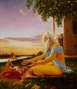 Sri Advaita Acarya -- Appearance